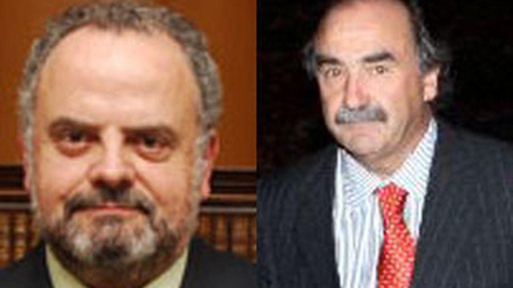 De izquierda a derecha, Ignacio Polanco y Blas Herrero.