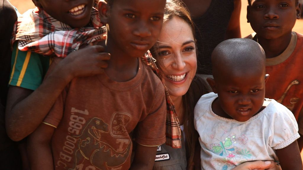 'We love Tamara' en Mozambique