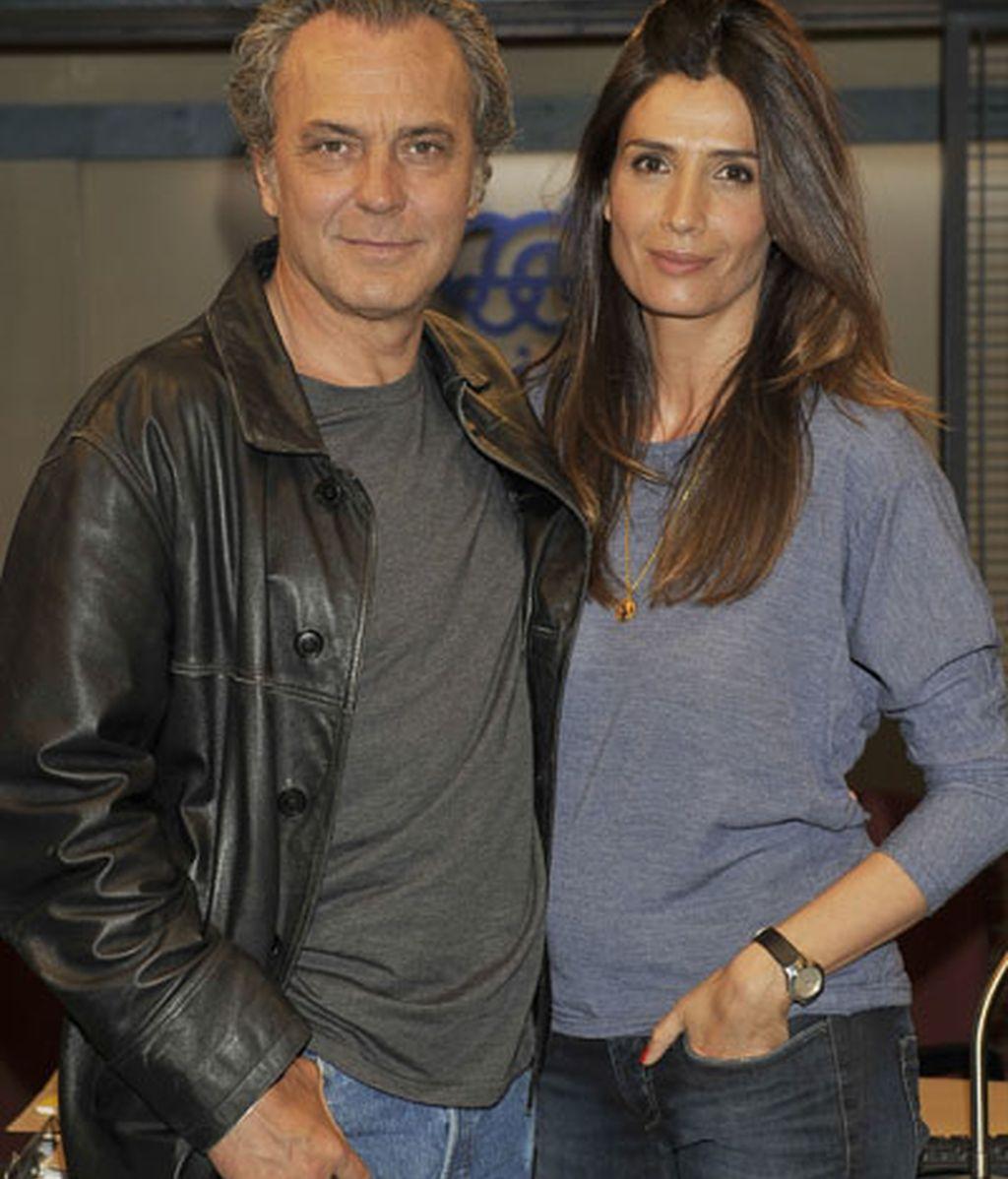 Jose Coronado y Elia Galera