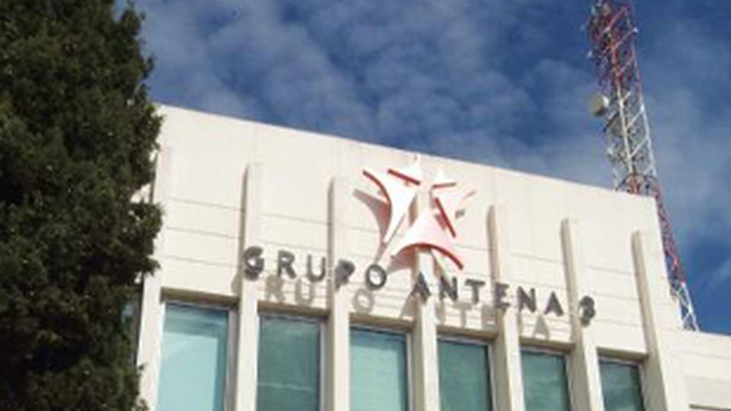 Edificio del Grupo Antena 3 en Madrid.