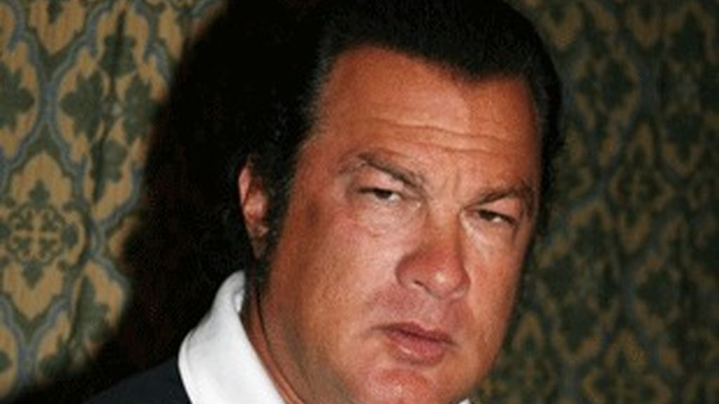 El ex actor de acción Steven Seagal.