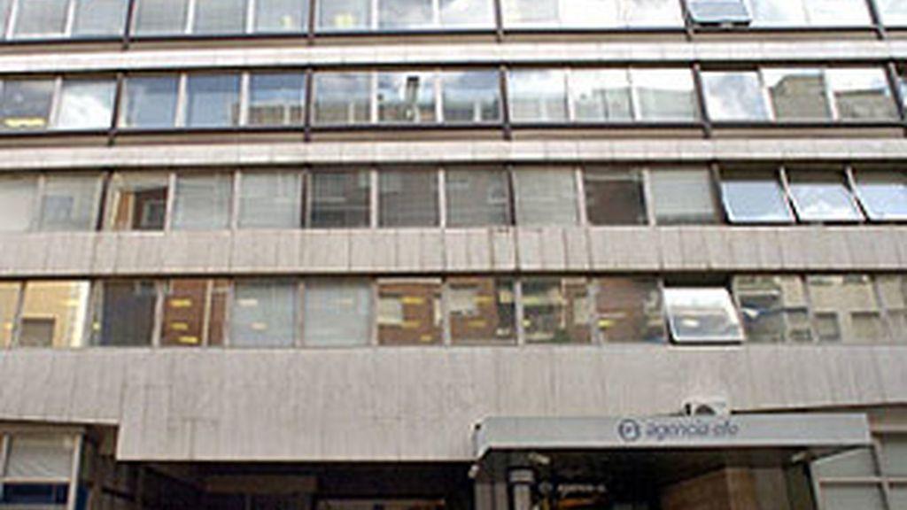 Fachada del edificio de la agencia EFE.