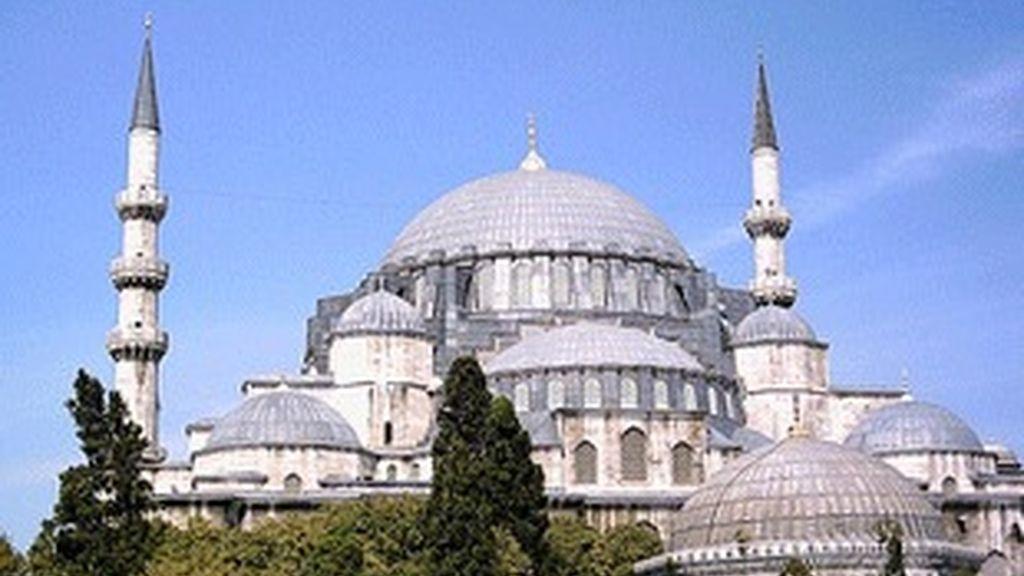 Mezquita azul de Estambul.