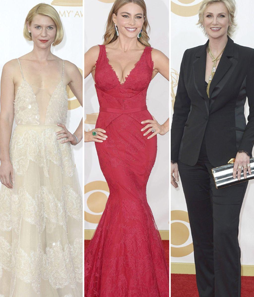 De la etérea Claire Danes a la sobria Jane Lynch, pasando por las curvas de Sofia Vergara