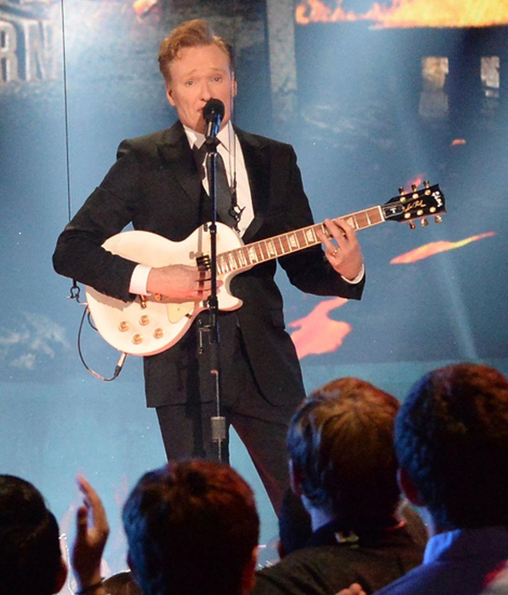 Conan O'Brien presentó la gala