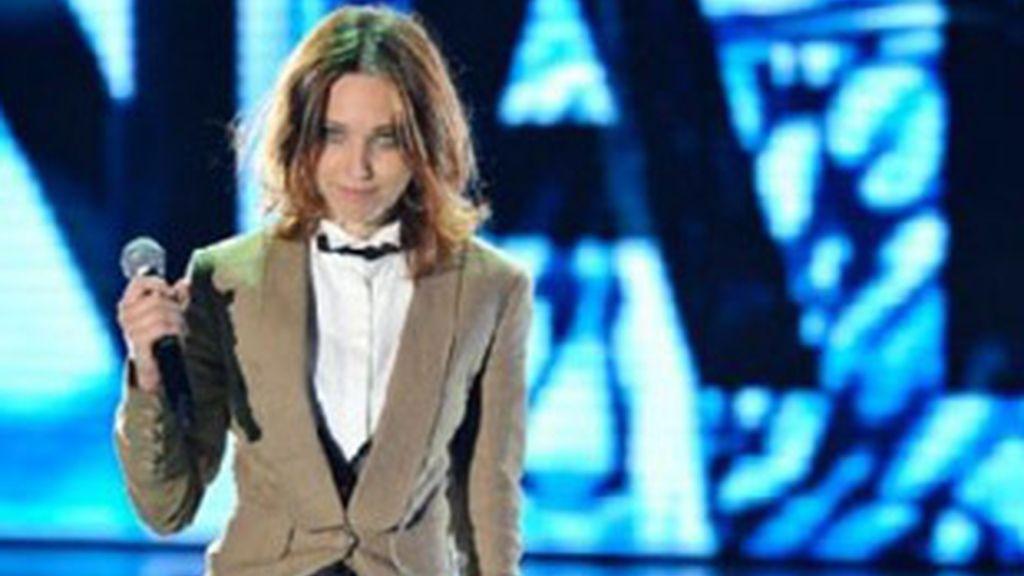 La posible aspirante italiana a Eurovisión 2011, Nathalie  Giannitrapani.