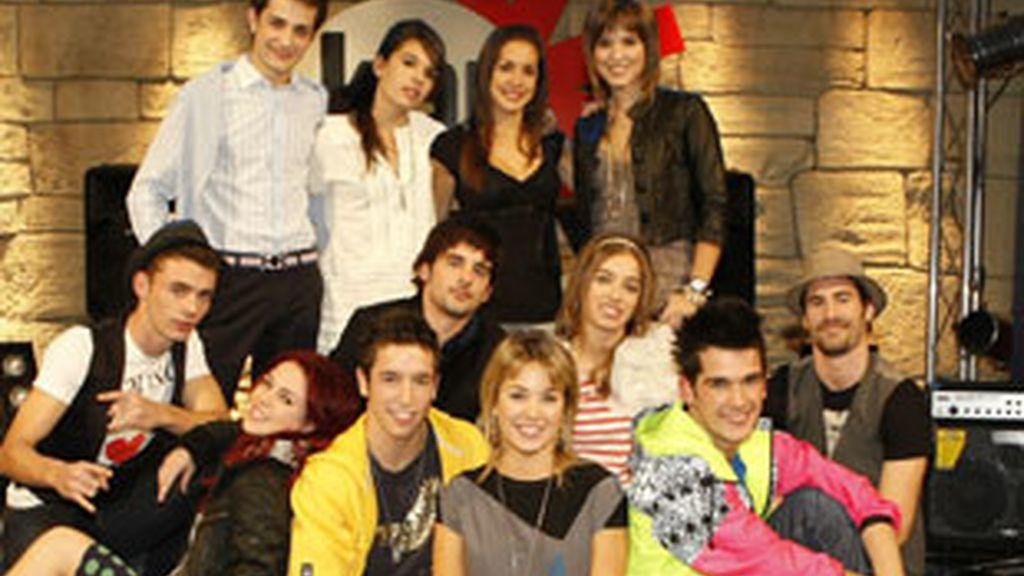 Protagonistas de '18', la nueva serie juvenil de Antena 3.