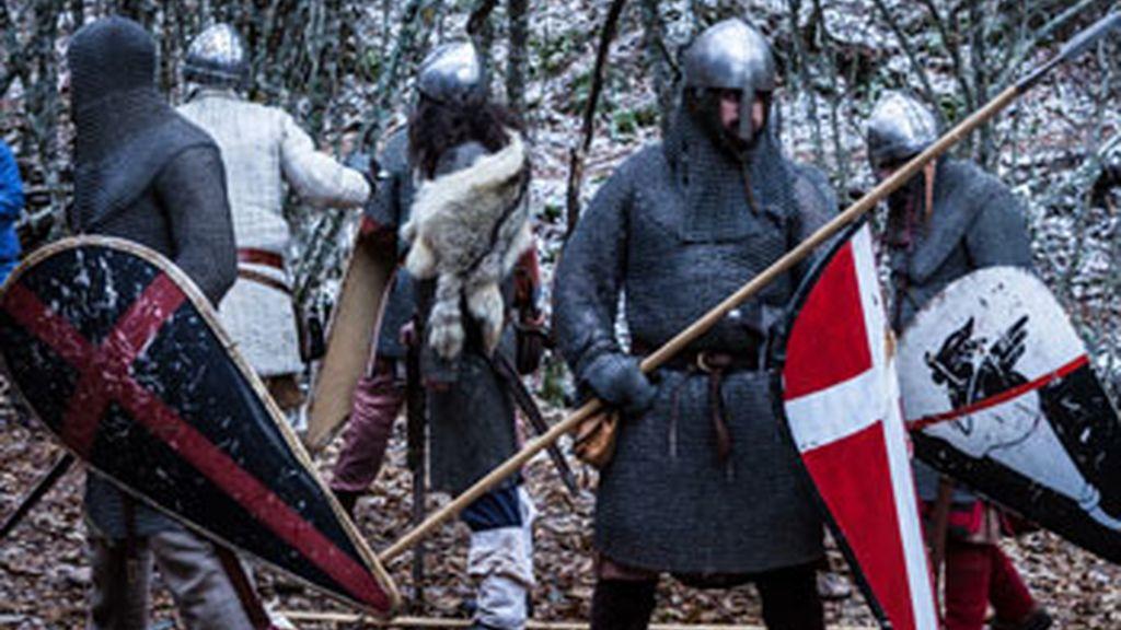 La leyenda de los monjes guerreros, en Historia