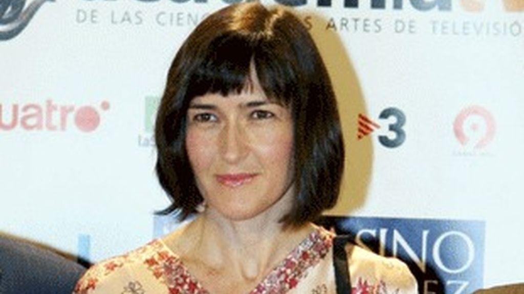 La ministra de Cultura, Ángeles González Sinde, en los premios de la ATV.