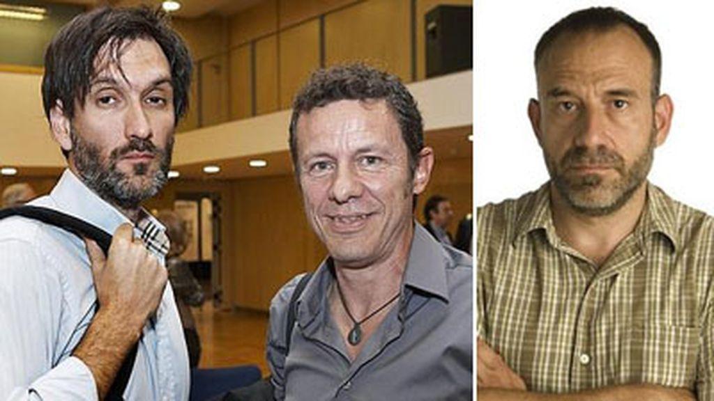 Ricardo García Vilanova, Javier Espinosa y Marc Marginedas