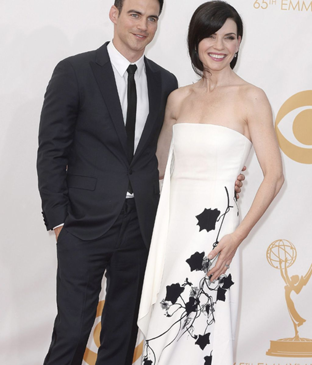 Julianna Margulies ('The good wife') y Keith Liberthal
