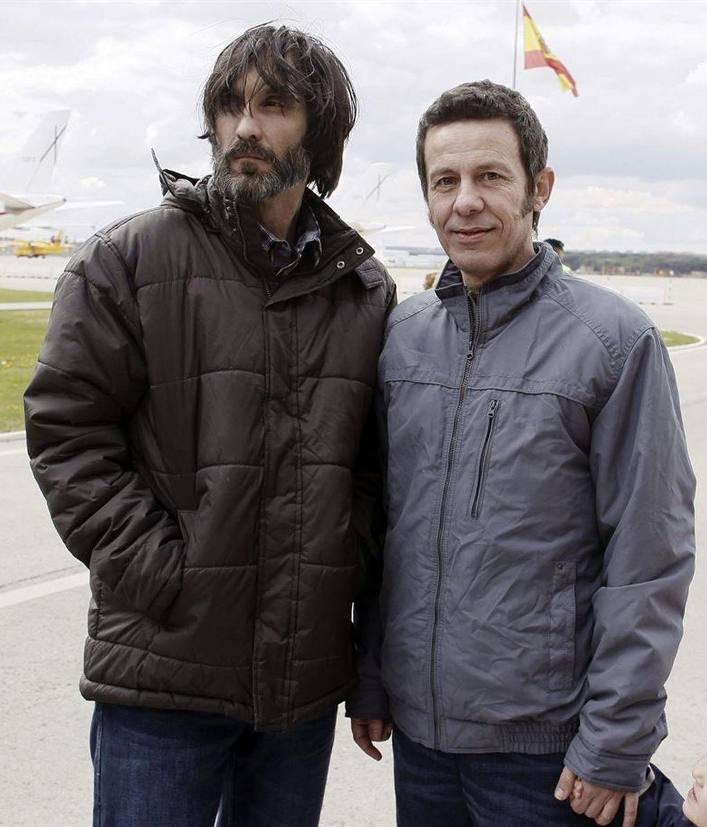 Javier Espinosa y Ricardo Garcia Vilanova