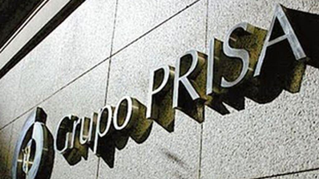 Fachada del edificio del Grupo Prisa.