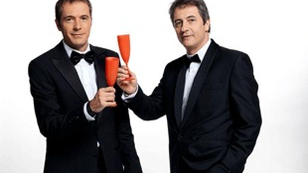 De izquierda a derecha, Manu Carreño y Manolo Lama.