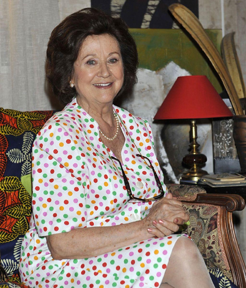 Julieta Serrano es Rosario, la madre de Daniel y Ángel