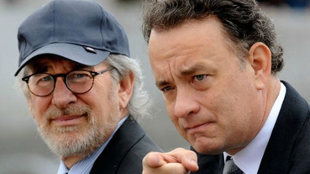 Steven Spielber y Tom Hanks