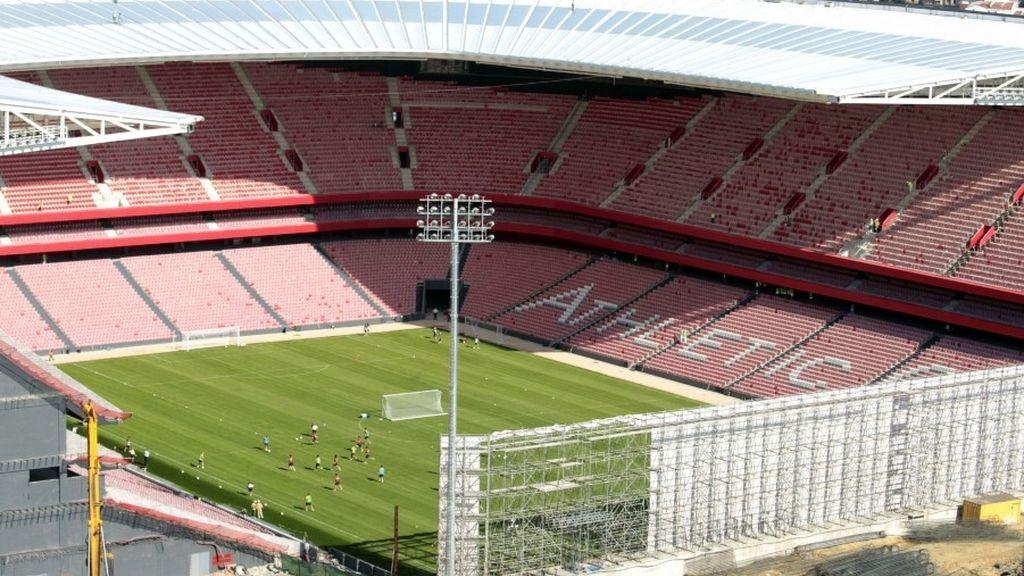Nuevo estadio San Mamés