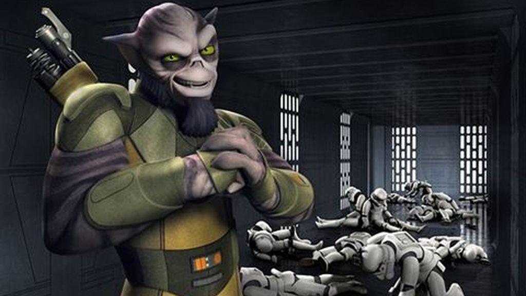 'Star Wars Rebels' presenta así a Zeb