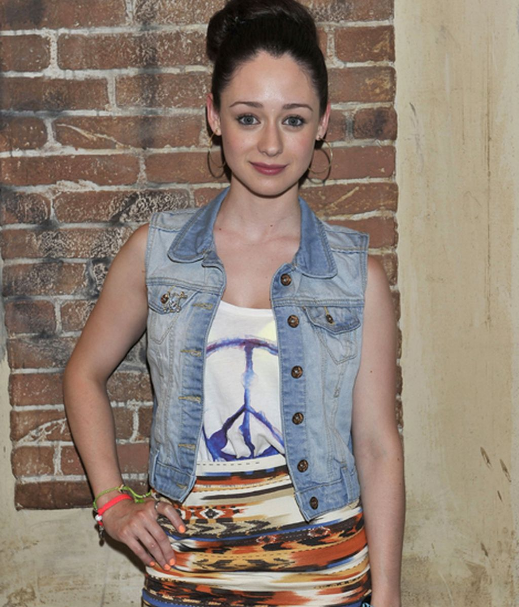 Elena Rivera es Sara, la hija de Paz