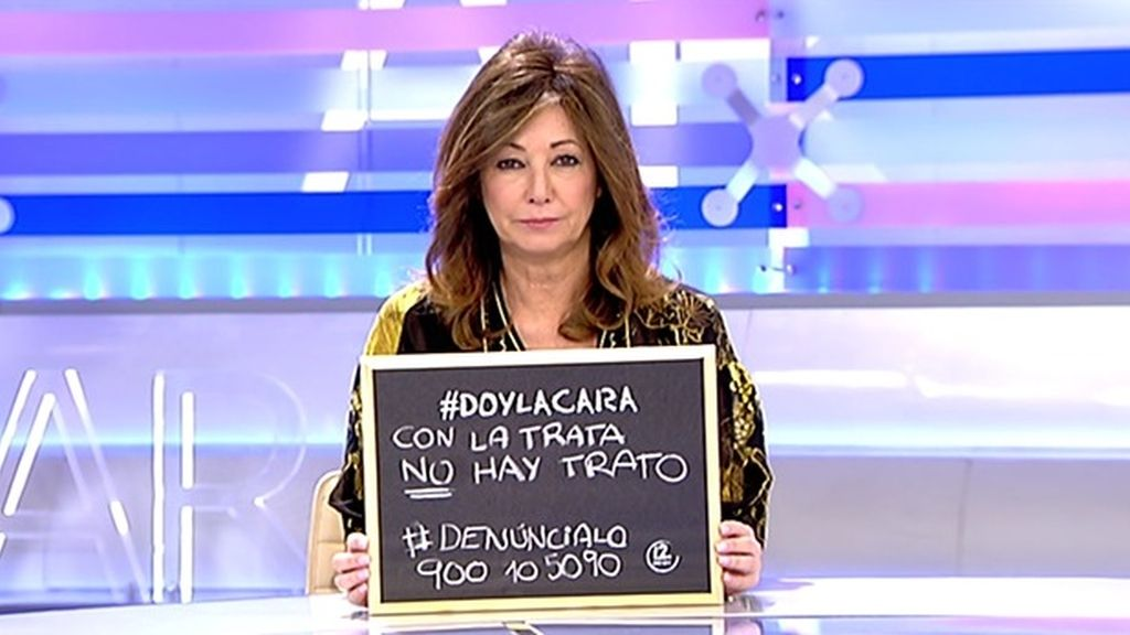"Ana Rosa Quintana: ""No seas cómplice, da la cara"""