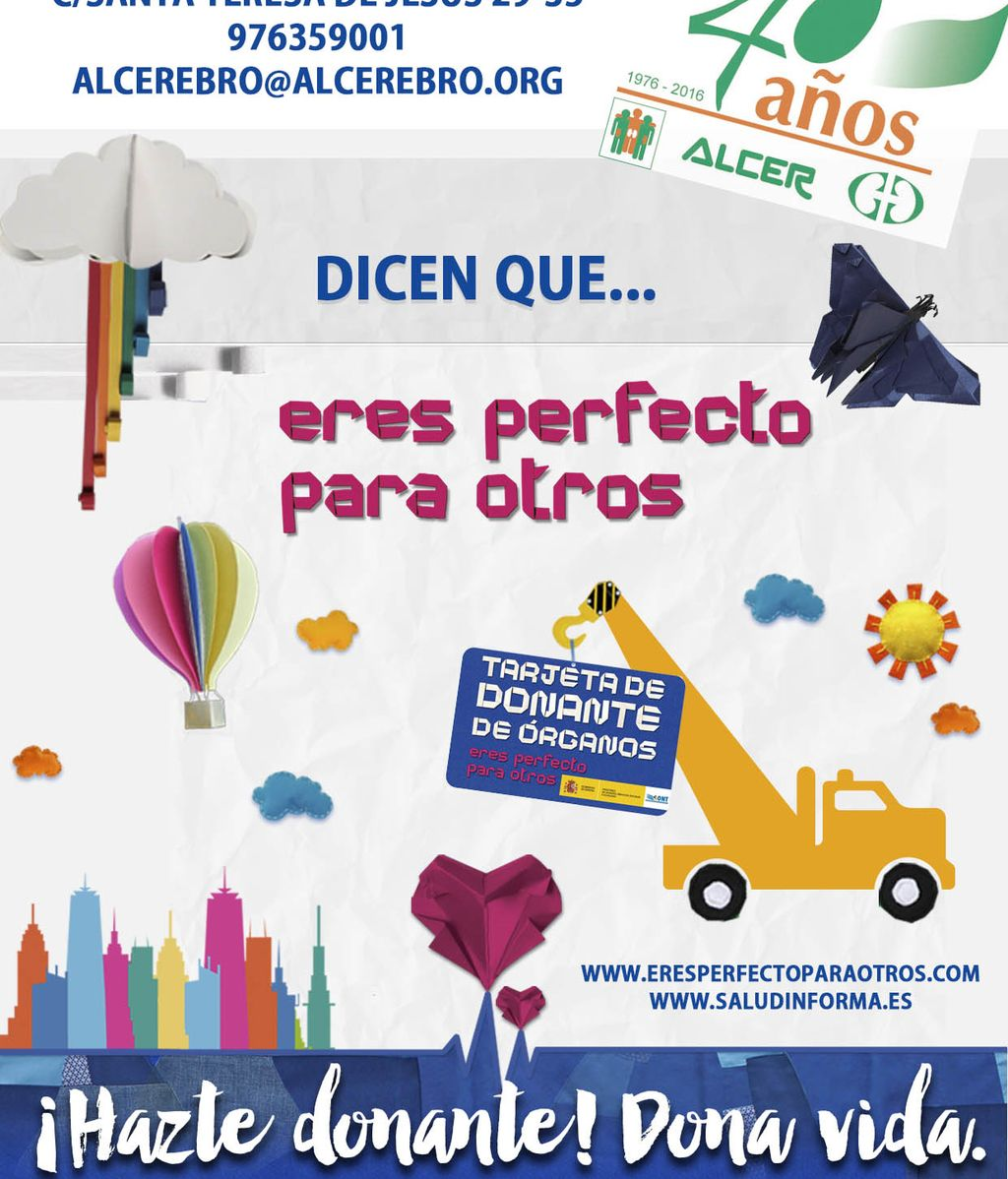 Cartel campaña ALCER Ebro