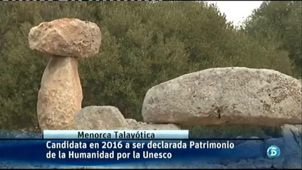 La Menorca Tayalótica, candidata a ser declarada Patrimonio de la Humanidad