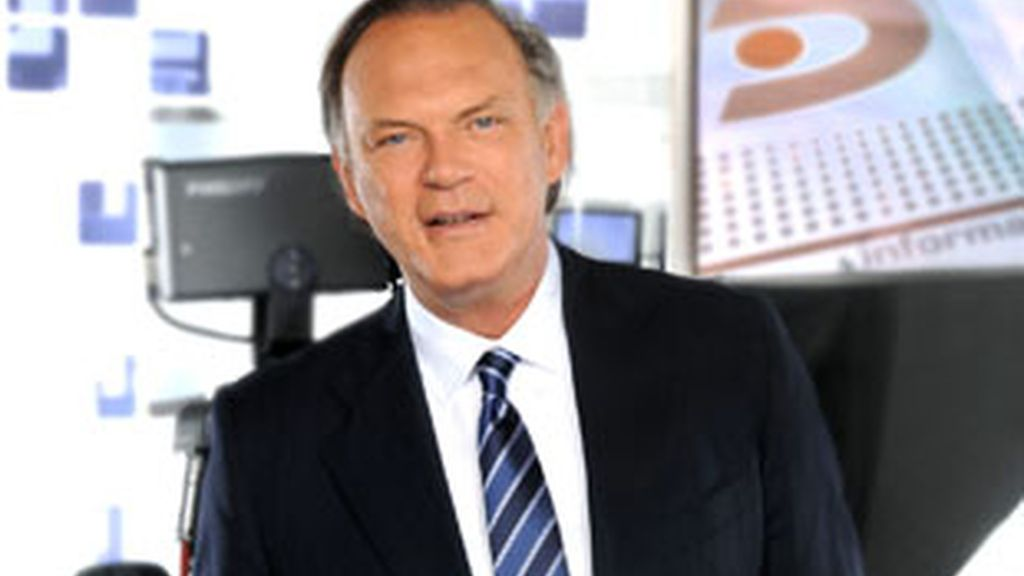 Pedro Piqueras, director de Informativos Telecinco.