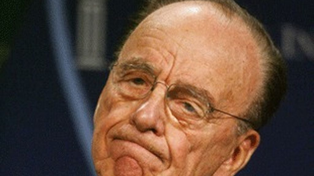 El director de News Corporation, Rupert Murdoch.