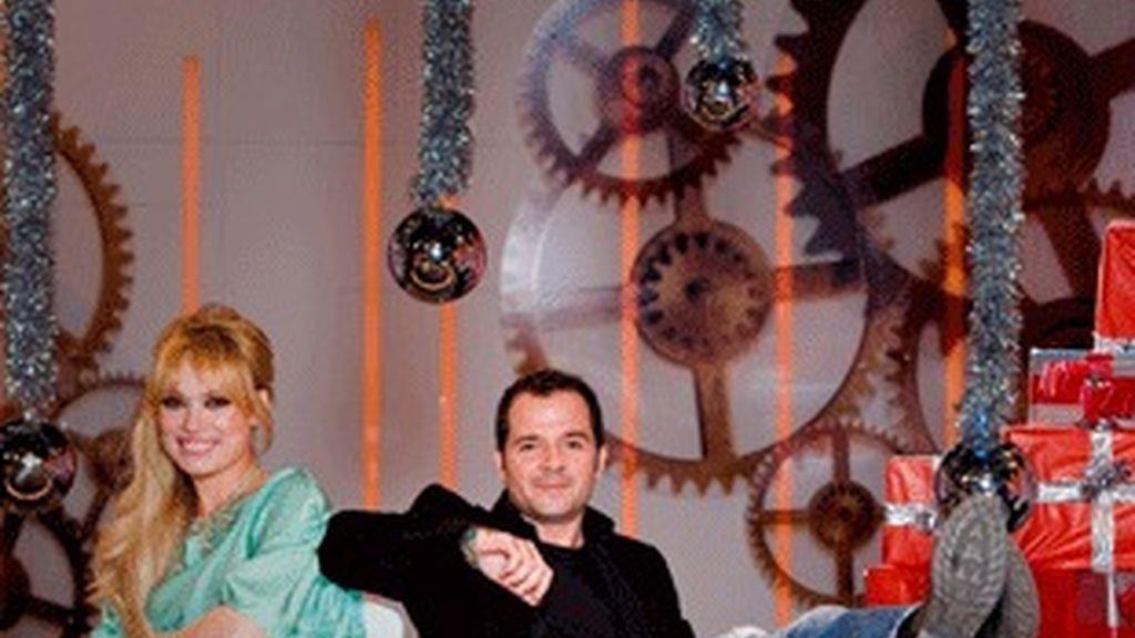 Patricia Conde y Ángel Martín, presentadores de 'Sé lo que hicisteis' (La Sexta).