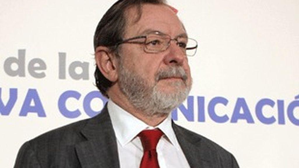 Juan Luis Cebrián, consejero delegado del grupo PRISA.