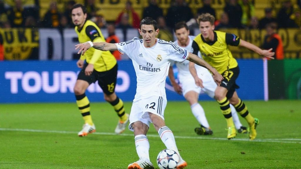 Di Maria Real Madrid Champions