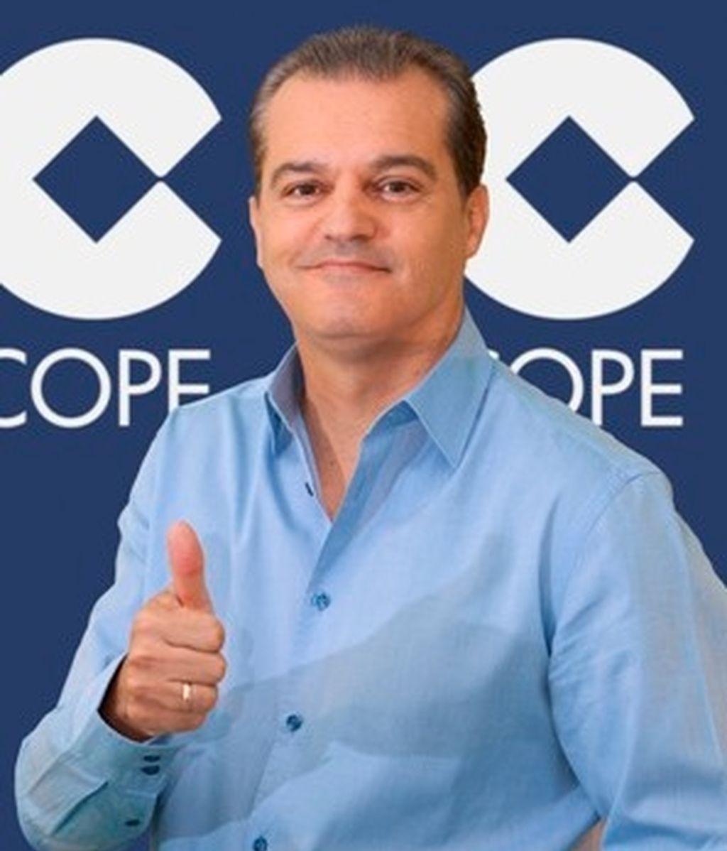 Ramón García, presentador en la Cope