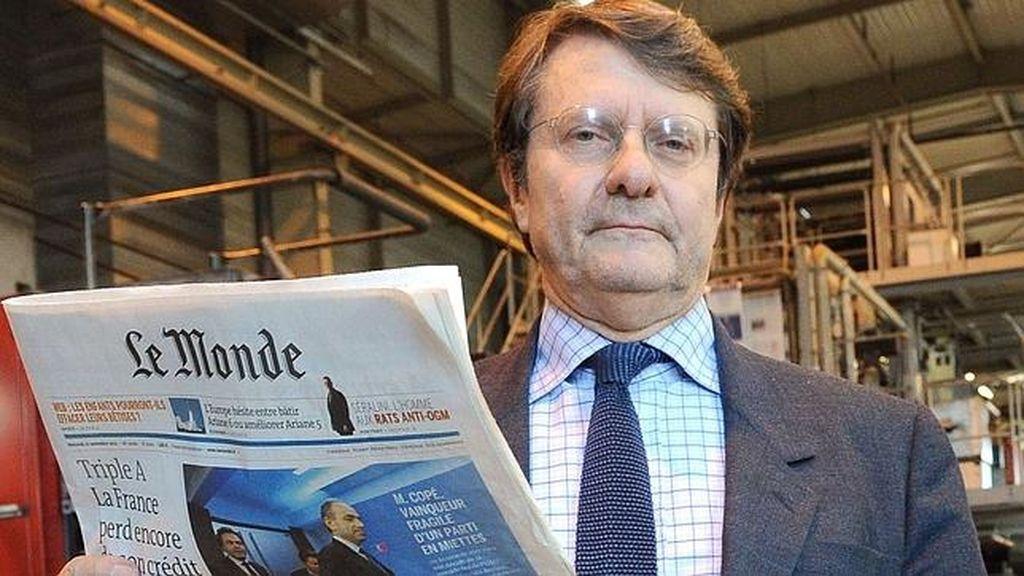 Fallece Erik Izraelewicz Director Le Monde