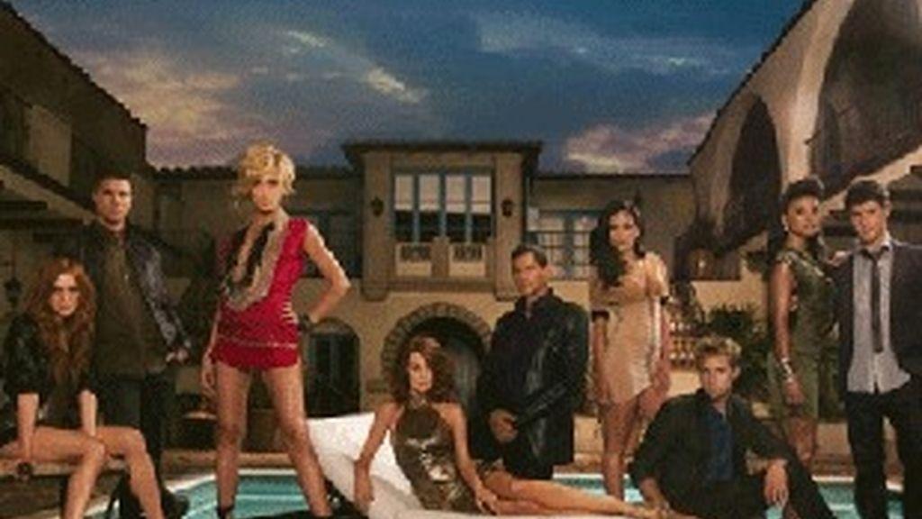 Protagonistas de la nueva 'Melrose Place'.