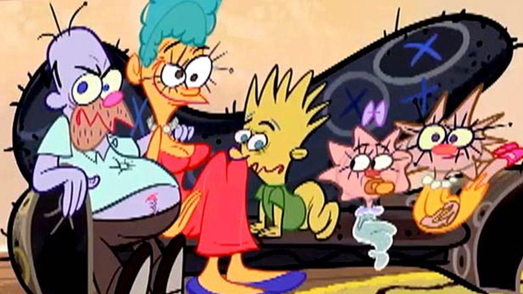 Los Simpson, con otro 'look'