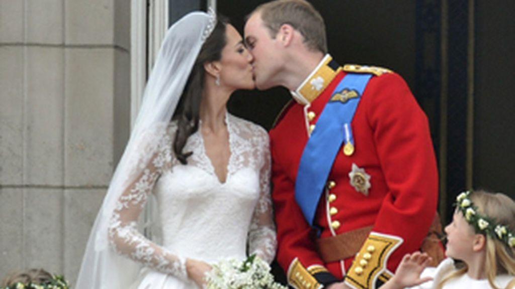 El príncipe Guillermo y su esposa Catalina.