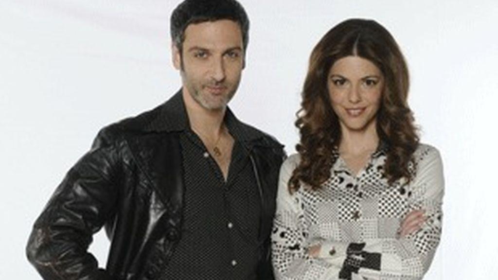 Los actores Ernesto Alterio y Manuela Velasco.