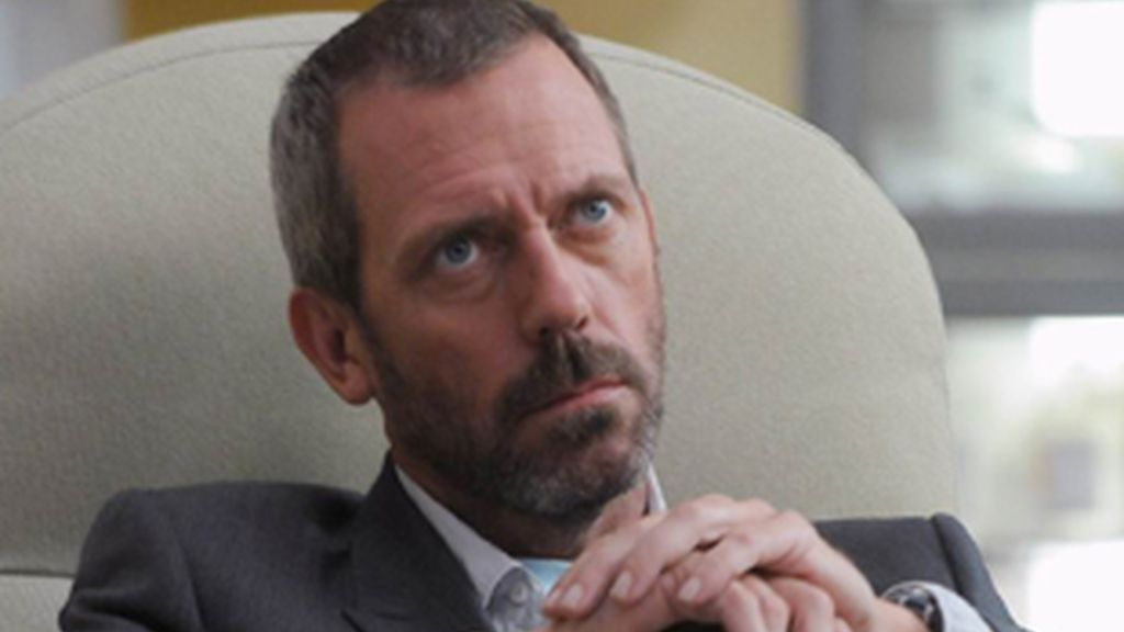 Hugh Laurie, actor que interpreta a Gregory House.