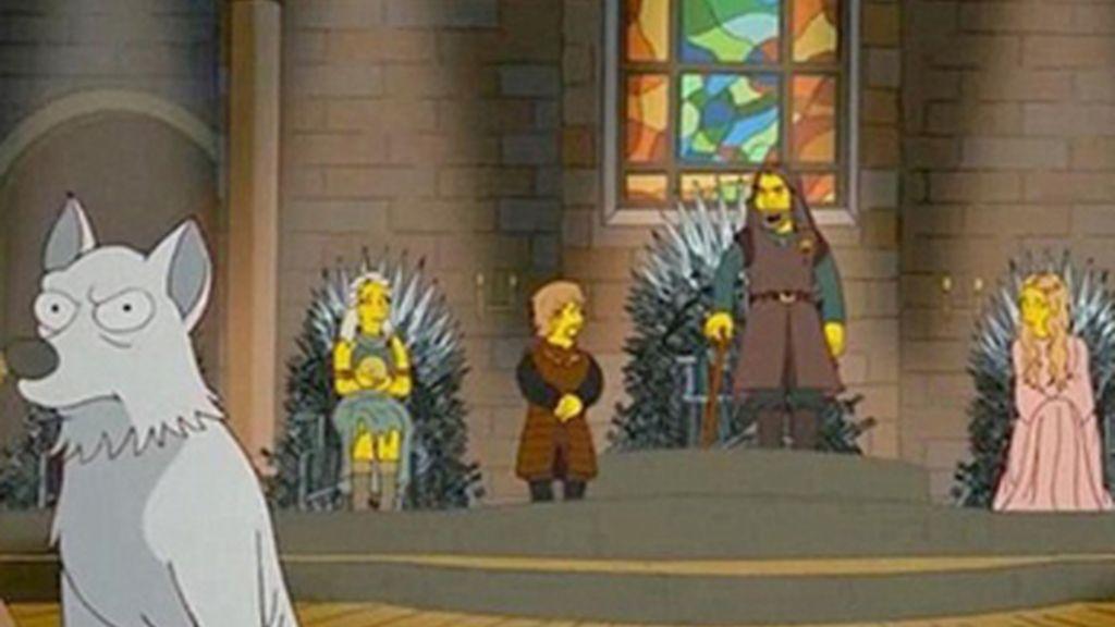 'Juego de Tronos' regresa a 'Los Simpson'