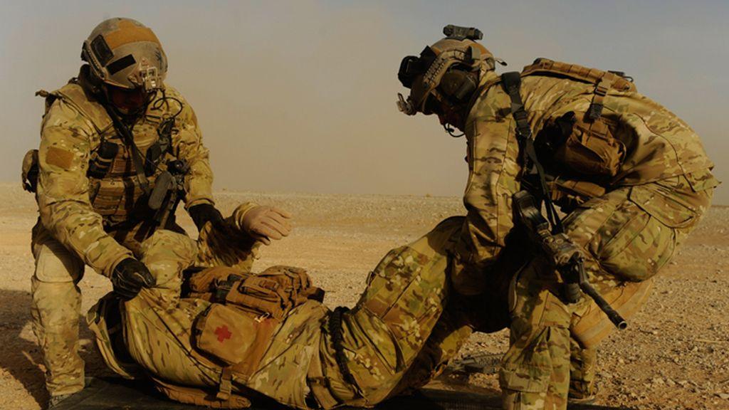No importa el riesgo para salvar a los 'Evacuados en combate'