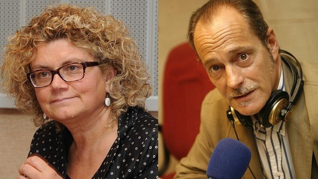 Marina Geli y Eduarrdo García Serrano