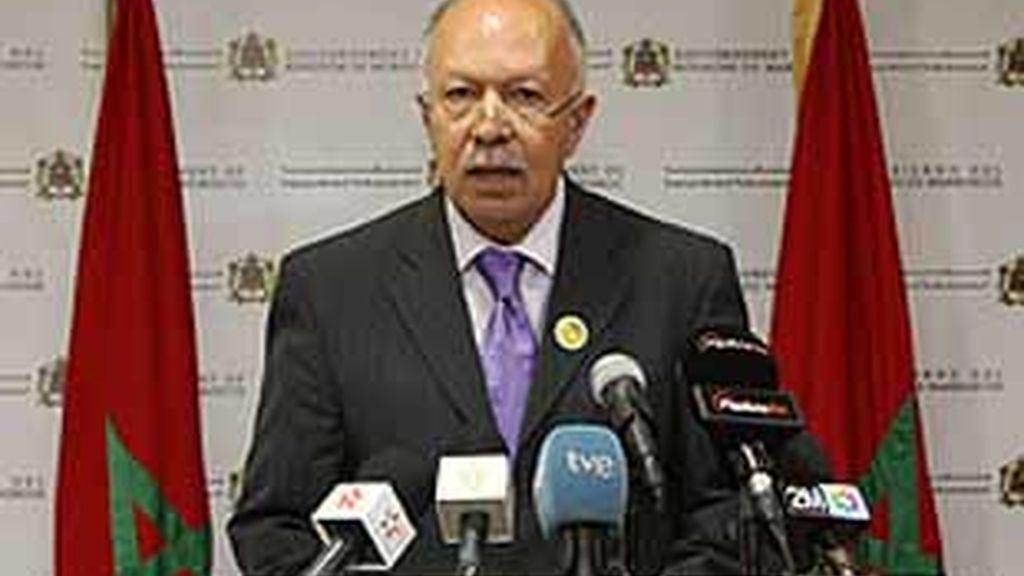 El ministro de Comunicación y portavoz del Gobierno marroquí, Jalid Naciri.