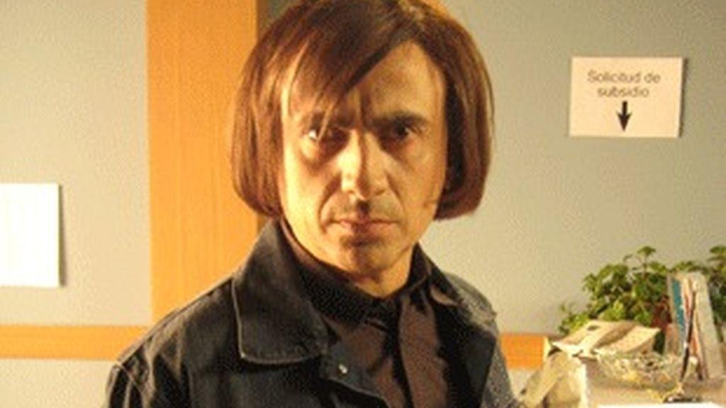 José Mota, caracterizado como Javier Bardem en 'No es país para viejos'.