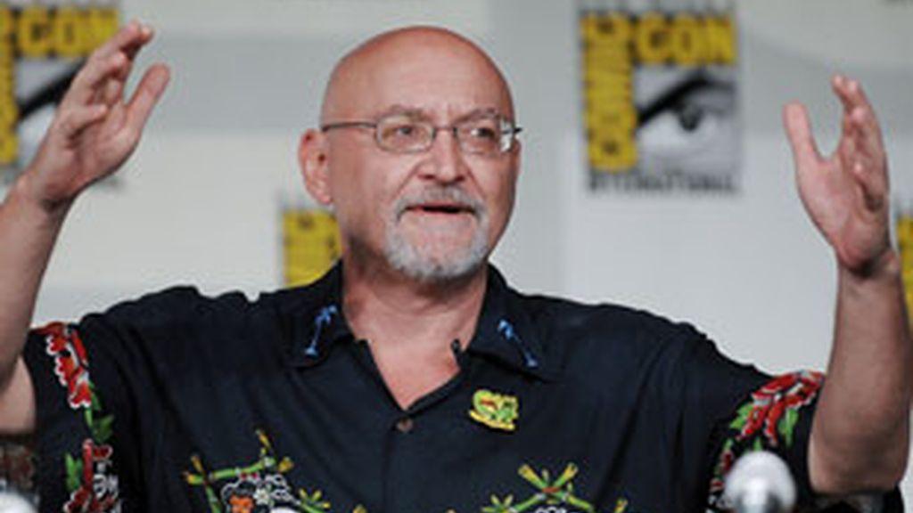 Frank Darabont en el Comic Con, días antes de anunciarse que abandona la serie.