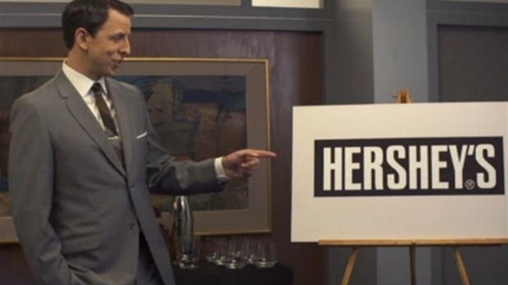 Seth Meyers parodia a Don Draper en 'Late night'