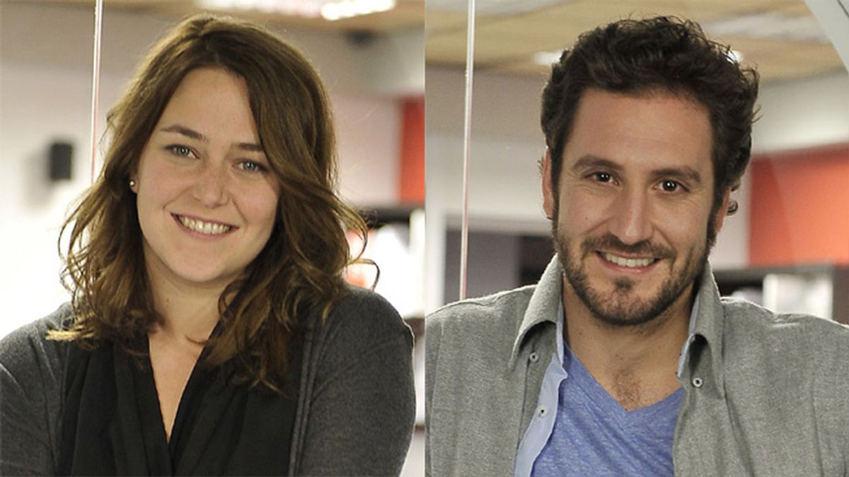 Teresa Hurtado de Ory & Álex Gadea en 'Ciega a citas' (Cuatro)