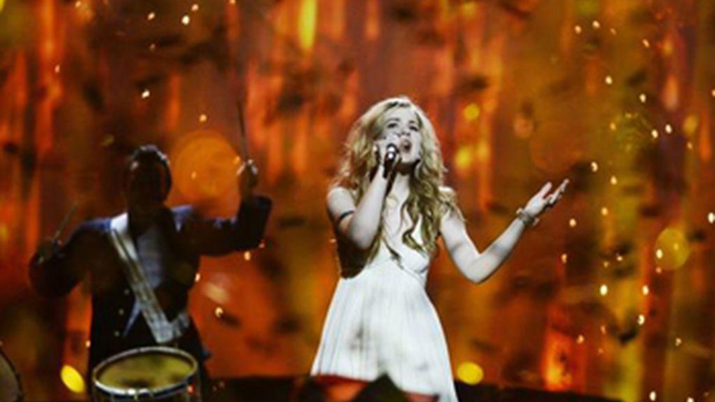 Dinamarca, vencedora de Eurovisión 2013 con Emmelie de Forest y 'Only teardrops'