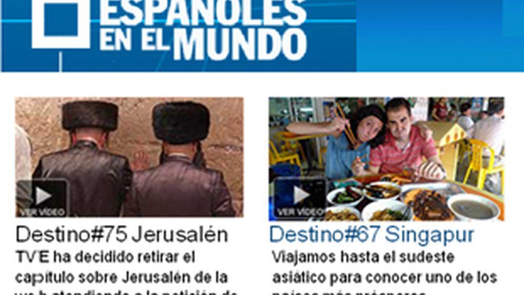 Página del programa en la web de Televisión Española