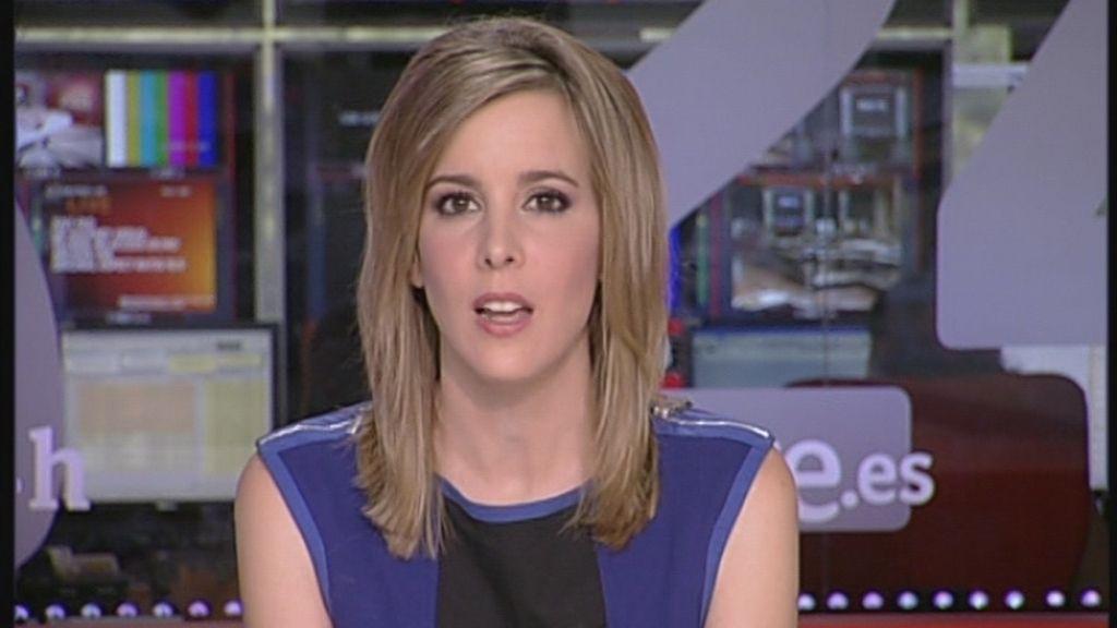 Ana Ibáñez, presentadora del Canal 24 horas de RTVE
