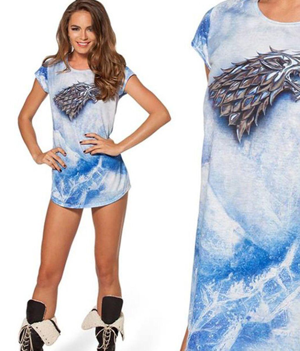 Camisetas, 'leggins' y vestidos forman parte del amplio 'merchandising' de la serie